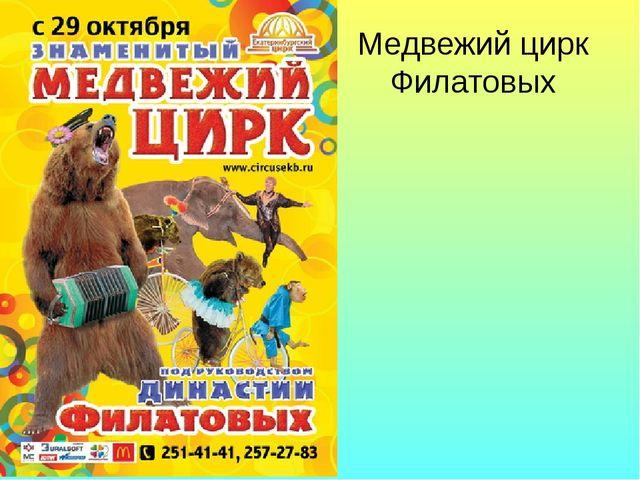 Медвежий цирк Филатовых