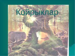 Койрыклар