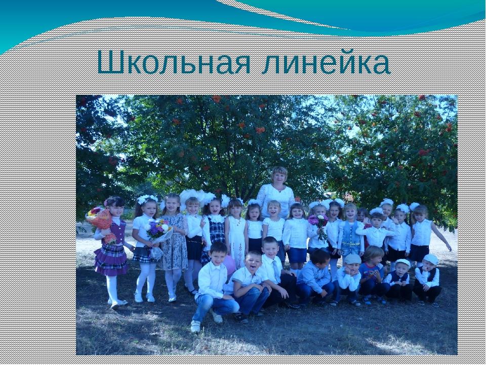 Школьная линейка