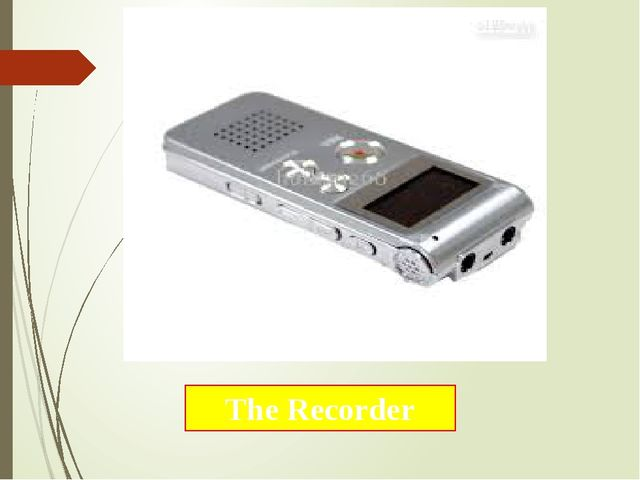The Recorder
