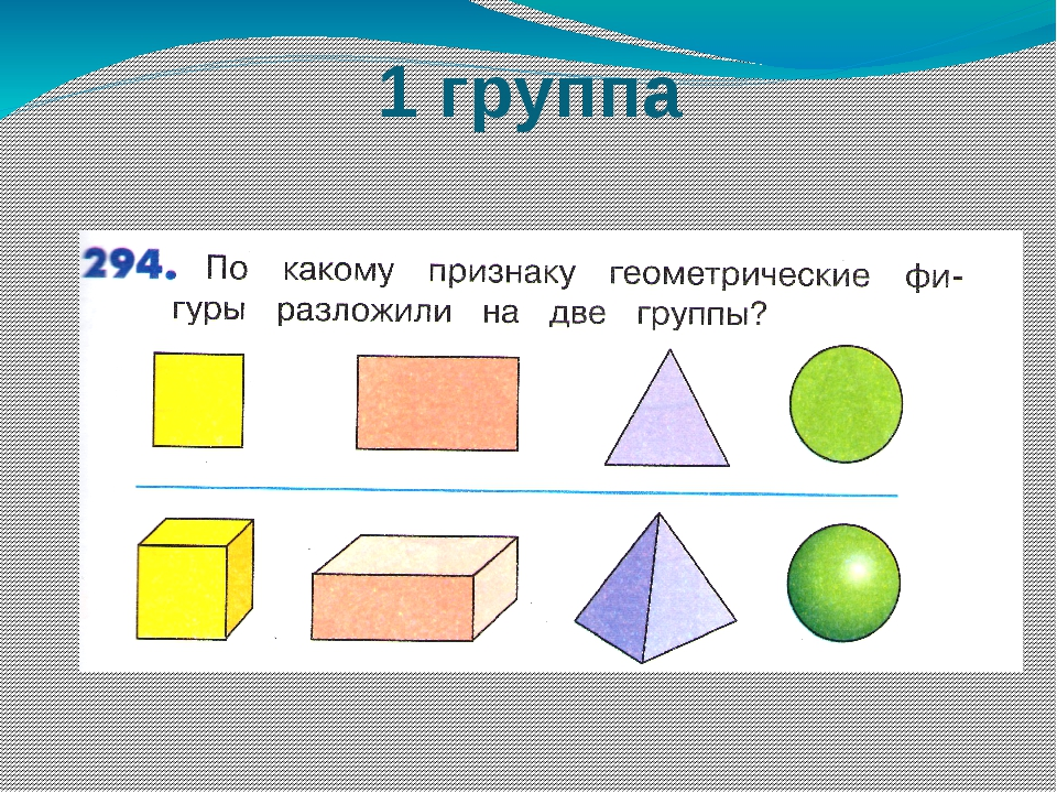 Технология 3 класс презентация плоские и объемные фигуры открытка