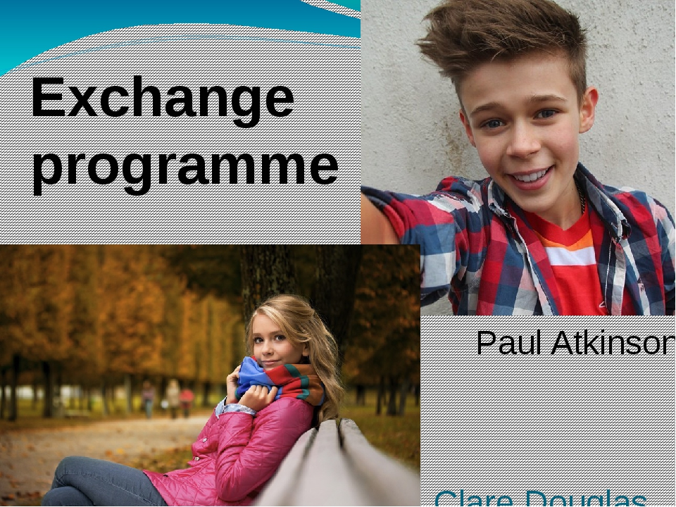 Clare Douglas Paul Atkinson Exchange programme