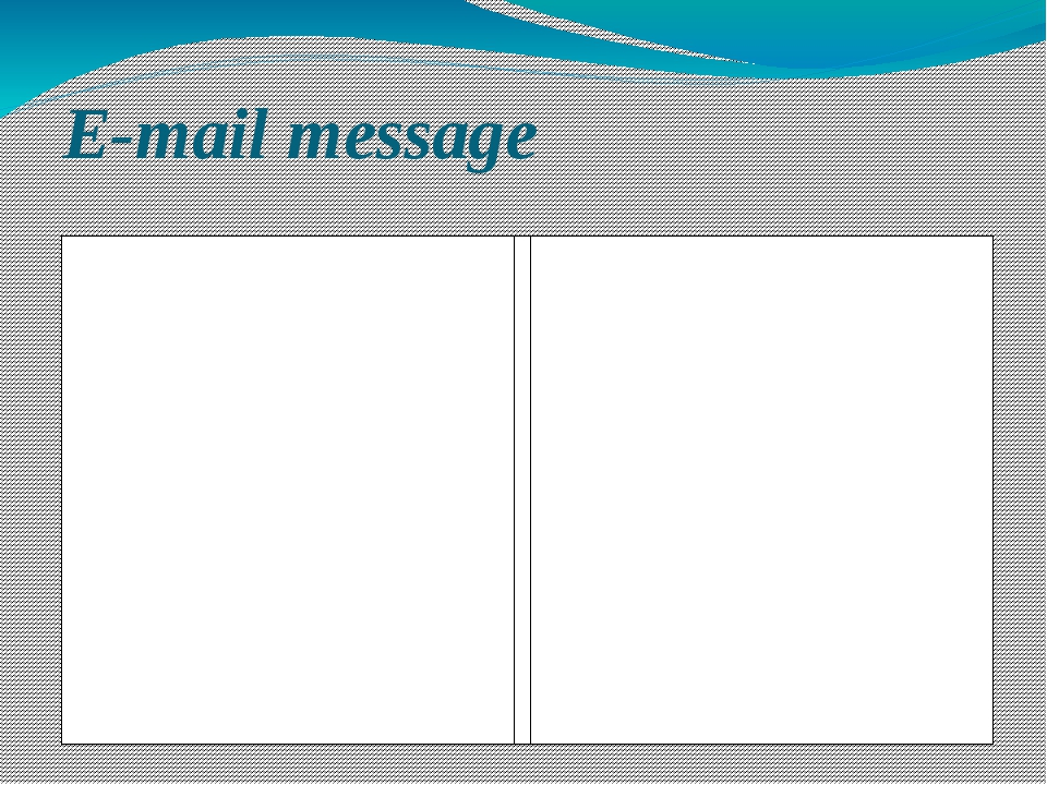 E-mail message Card 1 Write about rules in your school   Dear Clare and Paul,...