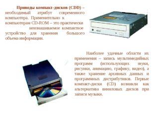 Приводы компакт-дисков (CDD) – необходимый атрибут современного компьютера.