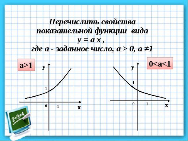 x y а>1 0