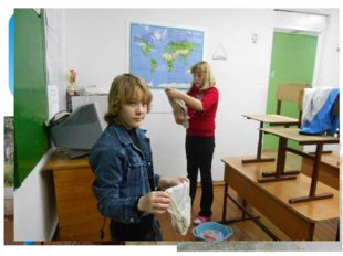Участие обучающихся в трудовых делах формы работы с детьми по реализации про