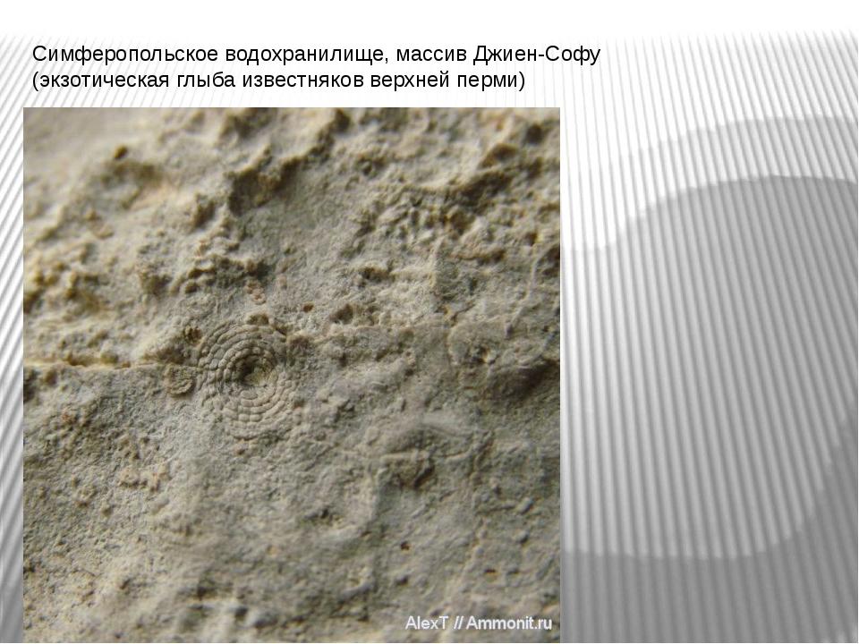 Симферопольское водохранилище, массив Джиен-Софу (экзотическая глыба известня...