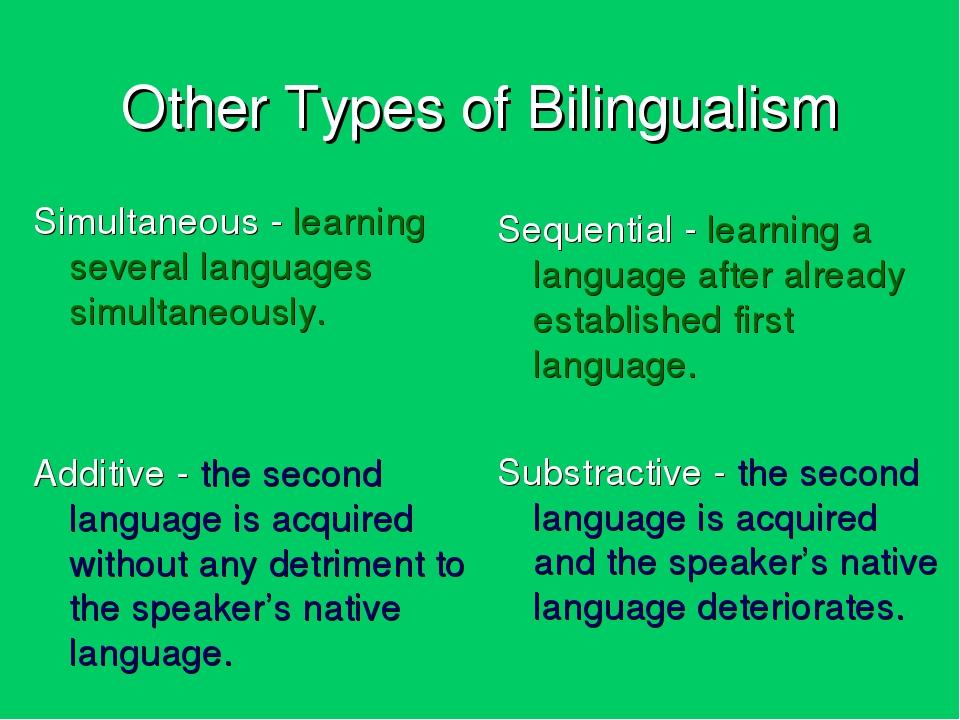monolingualism vs bilingualism Bilingual vs monolingual dictionaries schirmer thu dec 27, 2007 9:05 pm gmt the antimoon website strongly encourages using monolingual dictionaries.