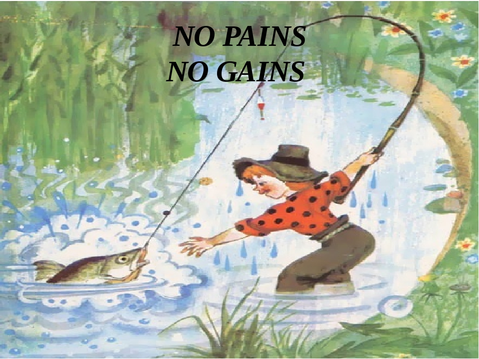 NO PAINS NO GAINS
