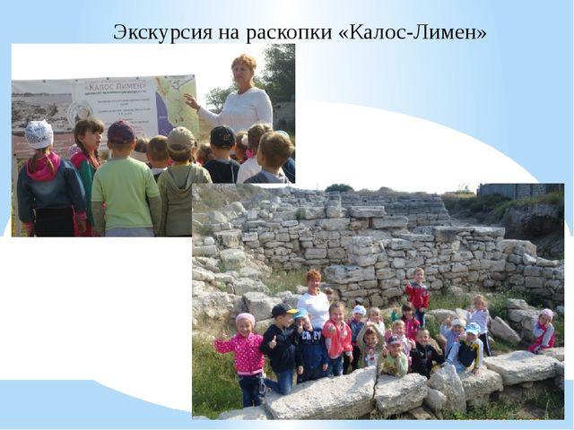 Экскурсия на раскопки «Калос-Лимен»