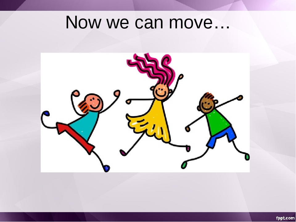 Now we can move…