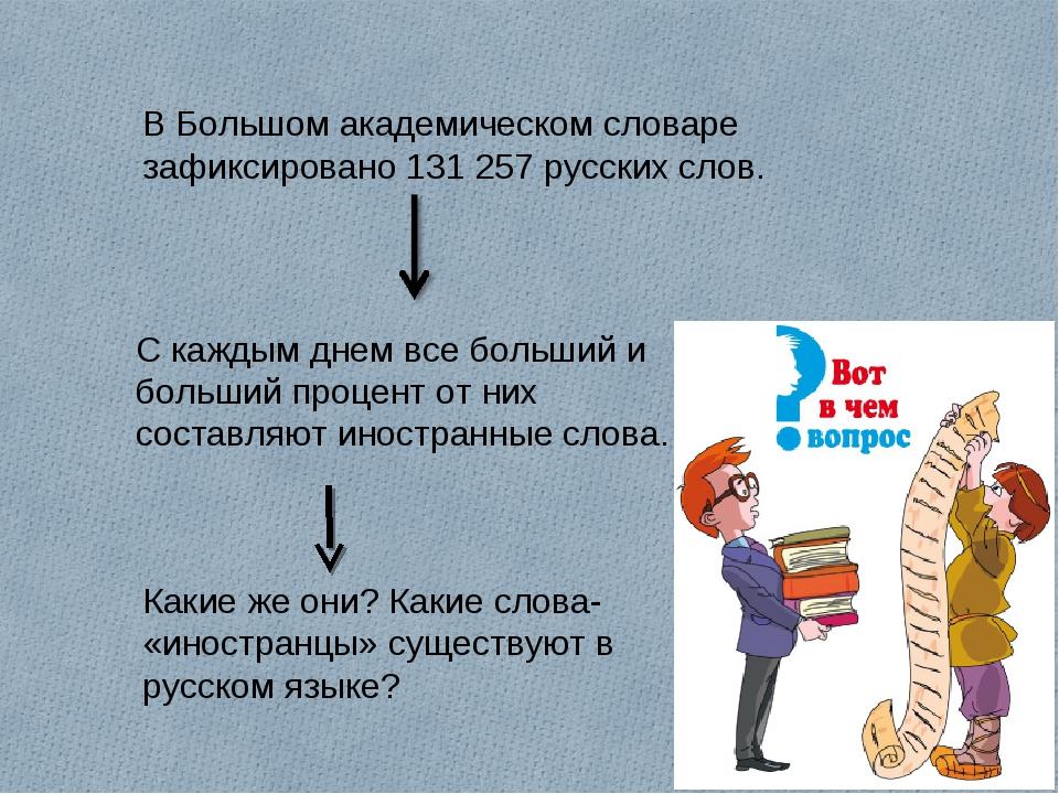 В Большом академическом словаре зафиксировано 131 257 русских слов. С каждым...