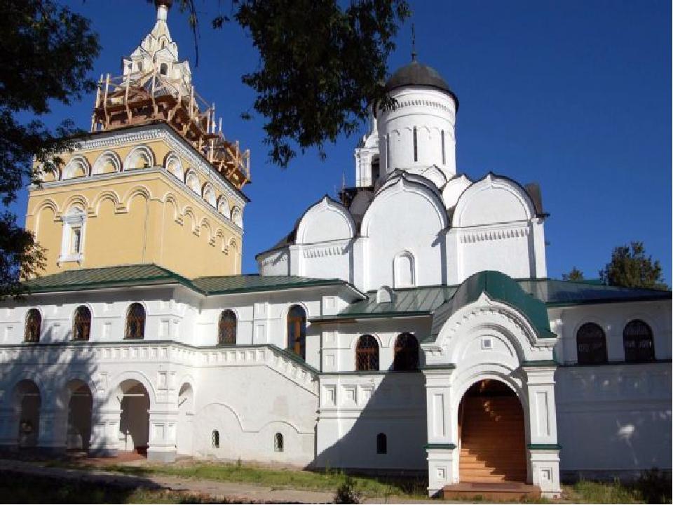 К ученикам своим и ко всем русским людям обращено завещание святого Сергия Р...