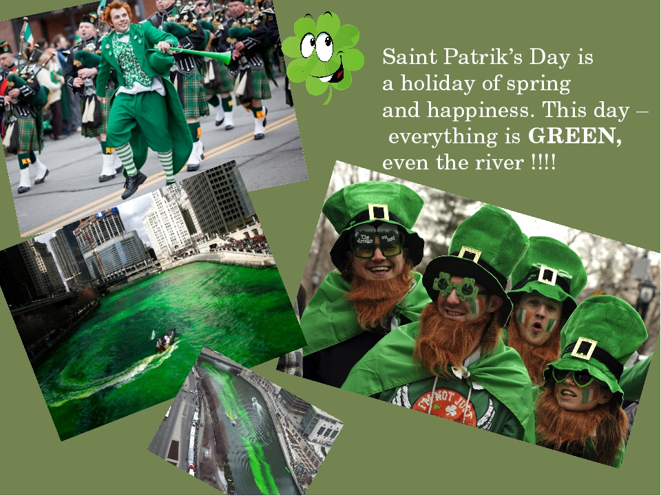 Saint Patrik's Day is a holiday of spring and happiness. This day – everythin...