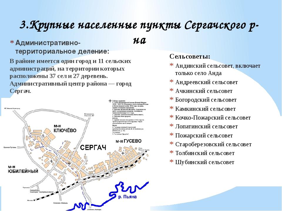 Административно-территориальное деление: В районе имеется один город и 11 сел...