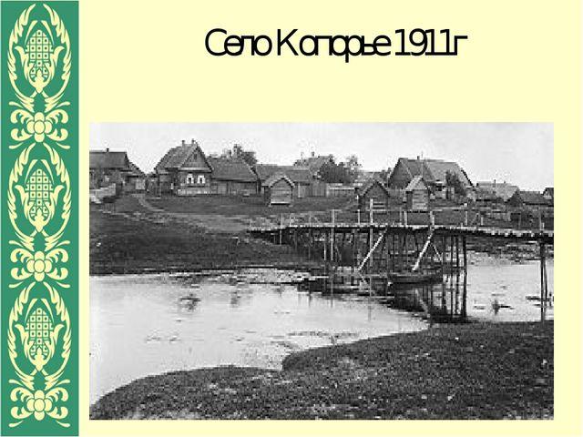 Село Копорье 1911г