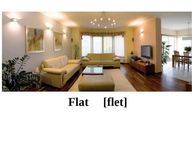 Flat [flet]
