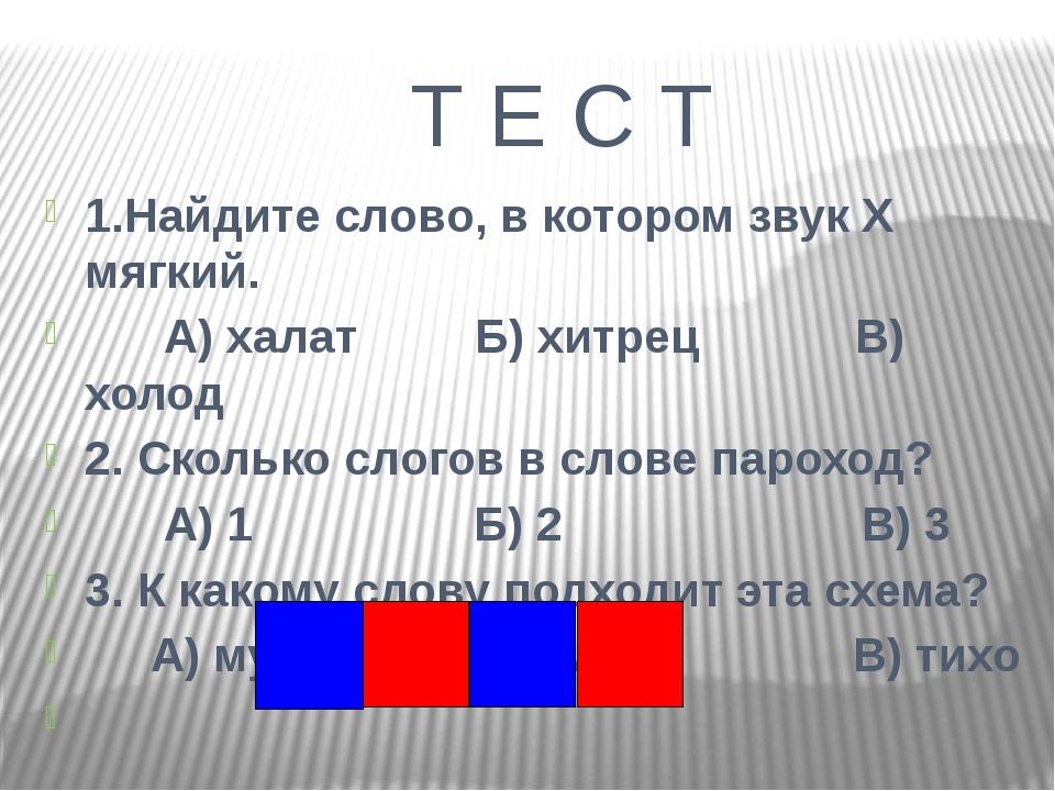 Проверка 1. Б 2. В 3. А