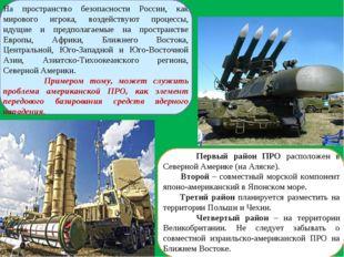На пространство безопасности России, как мирового игрока, воздействуют процес