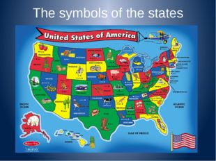 The symbols of the states