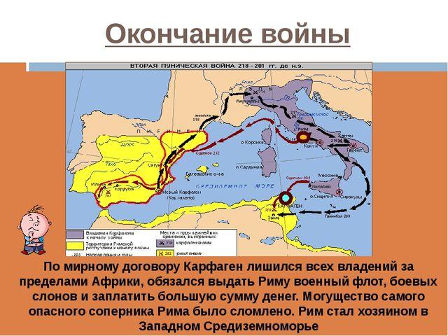 Окончание войны  Проанализируйте карту и сделайте вывод о территориальных из...