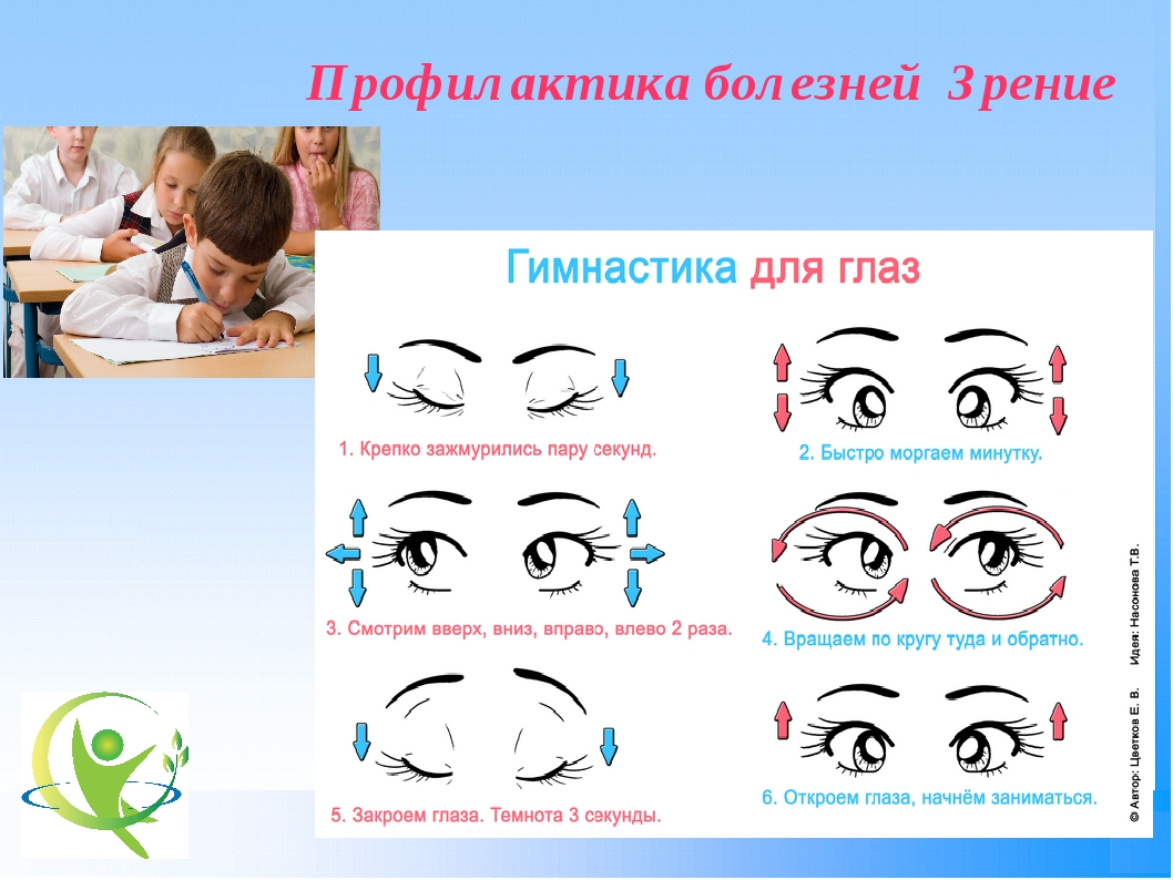 Профилактика болезней Зрение