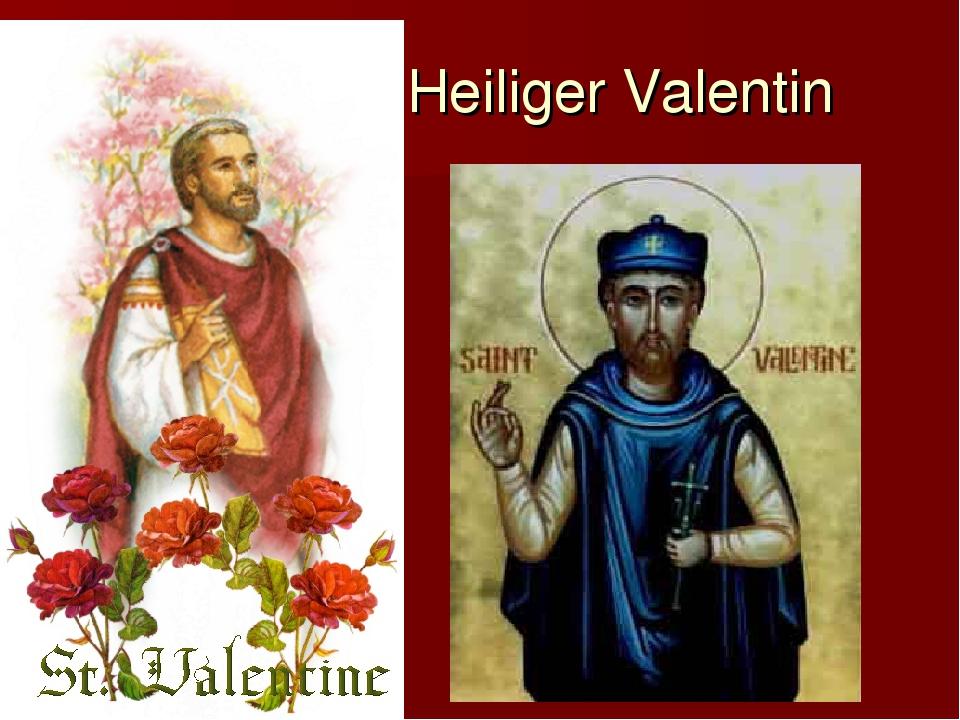 Heiliger Valentin