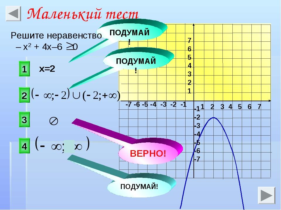 1 2 3 4 5 6 7 -7 -6 -5 -4 -3 -2 -1 7 6 5 4 3 2 1 -1 -2 -3 -4 -5 -6 -7 x=2 3 1...