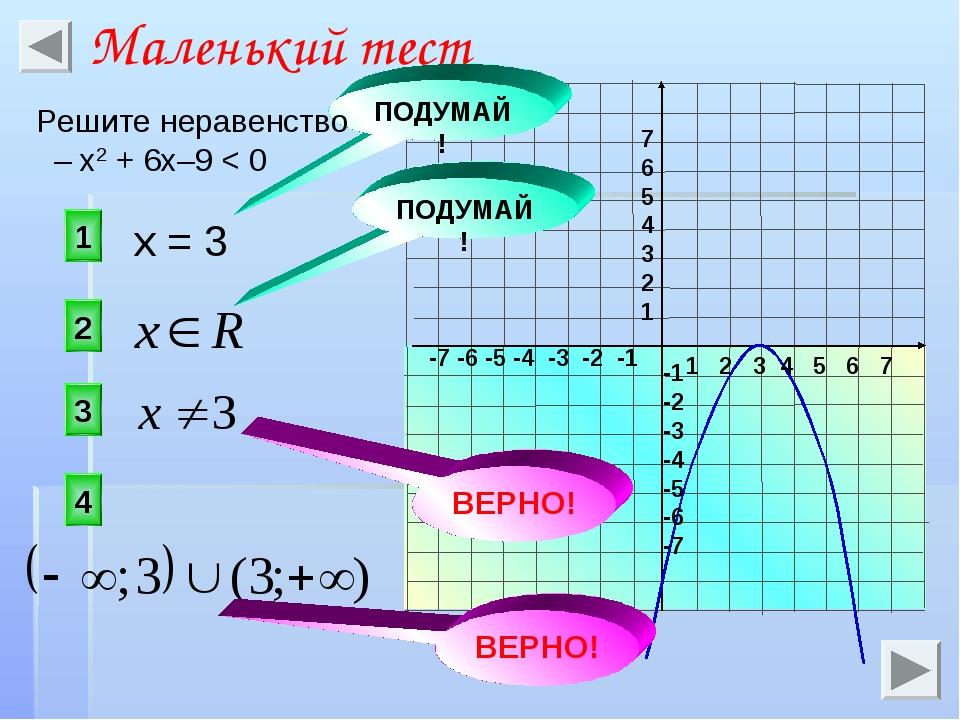 1 2 3 4 5 6 7 -7 -6 -5 -4 -3 -2 -1 7 6 5 4 3 2 1 -1 -2 -3 -4 -5 -6 -7 x = 3 3...