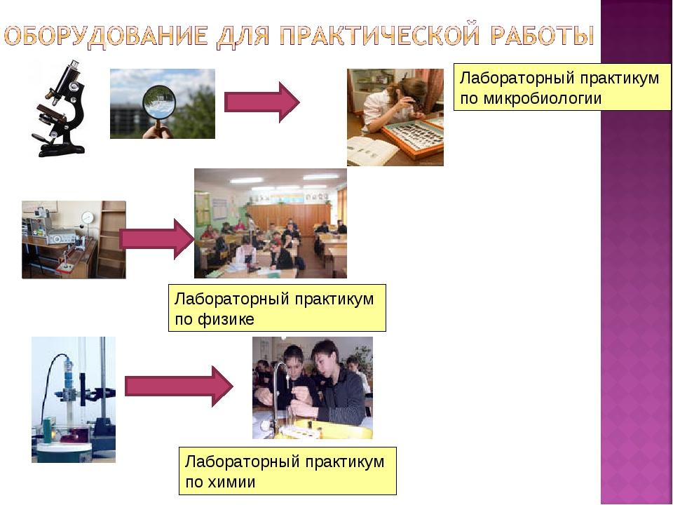 Лабораторный практикум по микробиологии Лабораторный практикум по физике Лабо...