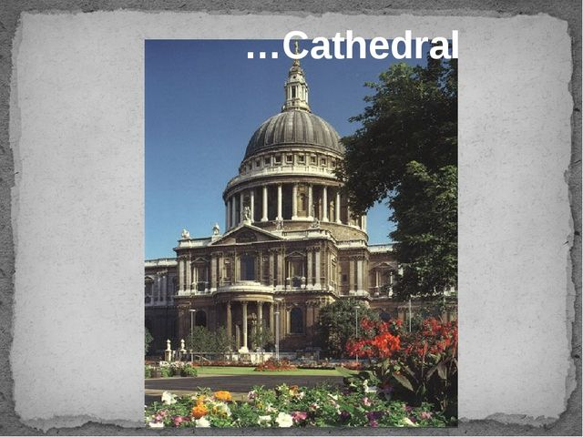…Cathedral