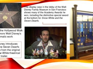 This star on the Hollywood Walk of Fame honors Walt Disney's cinematic work W