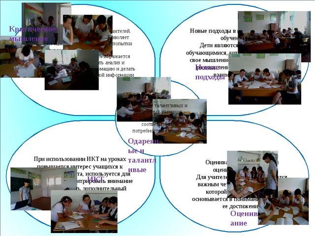 Новые подходы в преподавании и обучении. Дети являются активными обучающимис...