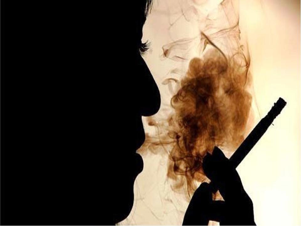 По данным Всемирной организации здравоохранения от табака умирает каждый пят...