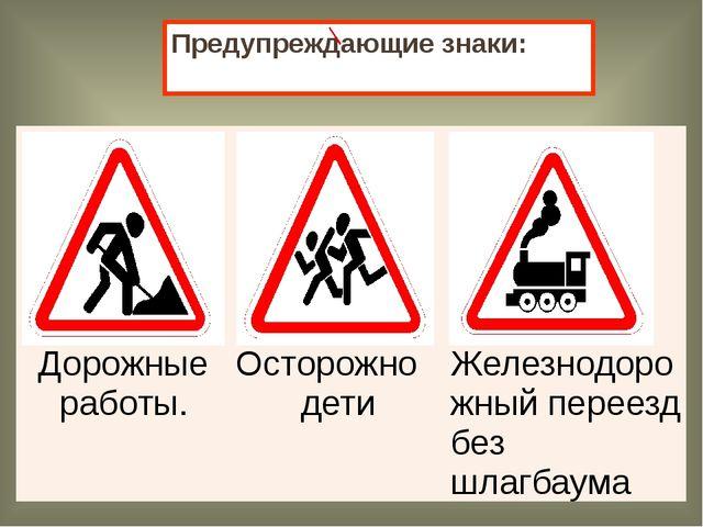 Указательные знаки: Подземныйпереход Надземныйпереход. Пешеходныйпереход