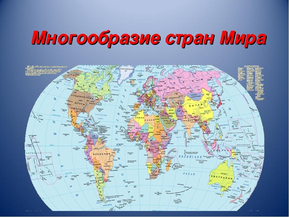 Многообразие стран Мира