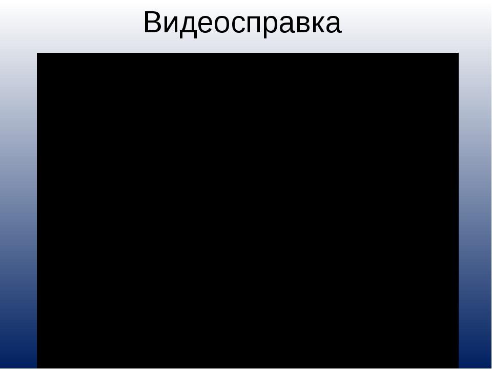 Видеосправка