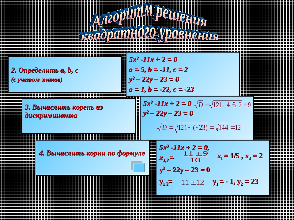 х1 = 1/5 , х2 = 2 y2 – 22y – 23 = 0 у1,2= у1 = - 1, у2 = 23 2. Определить a,...