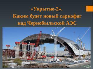 «Укрытие-2». Каким будет новый саркофаг над Чернобыльской АЭС