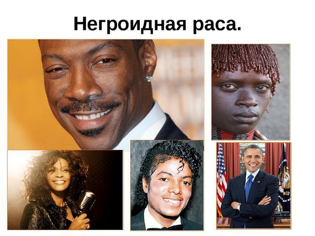 Негроидная раса.