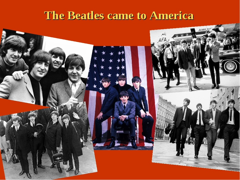The Beatles came to America