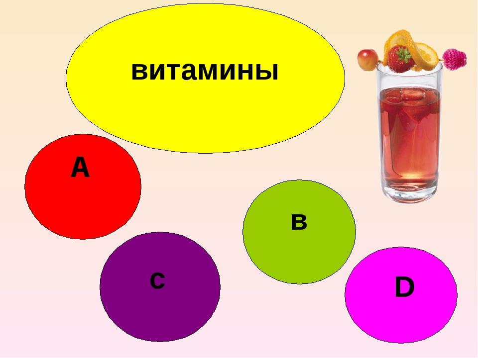 витамины А D в с