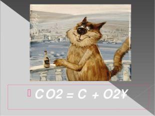 СО2 = С + О2↑