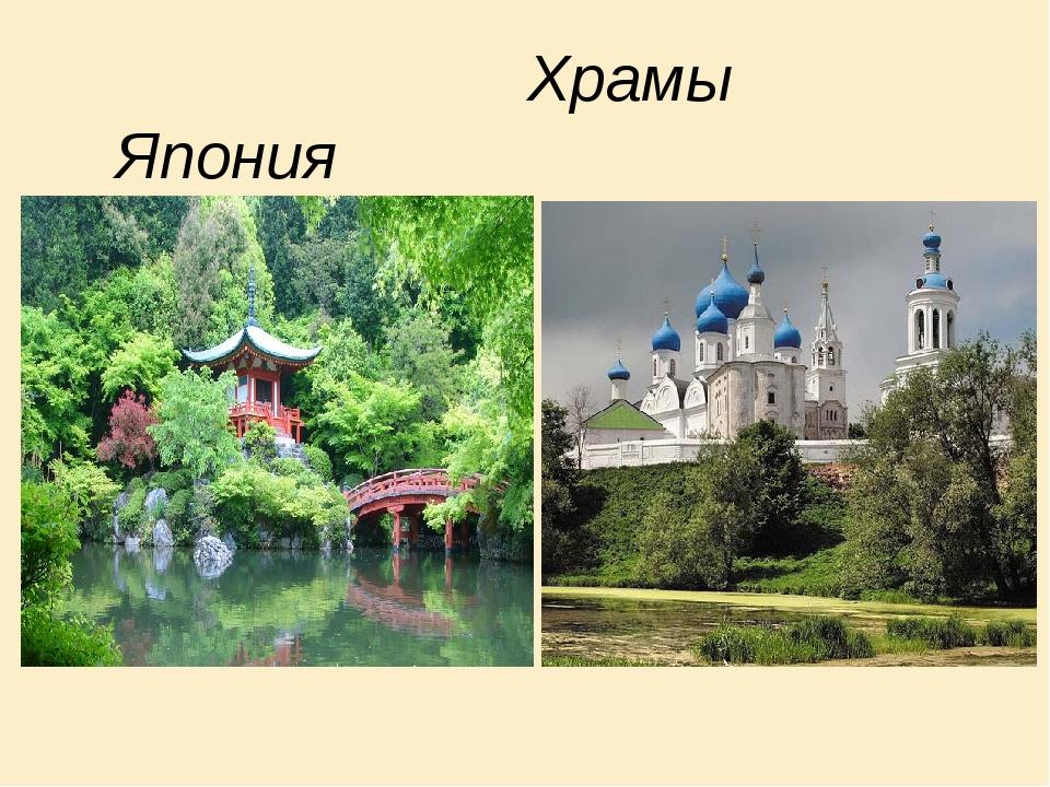 Храмы Япония Россия