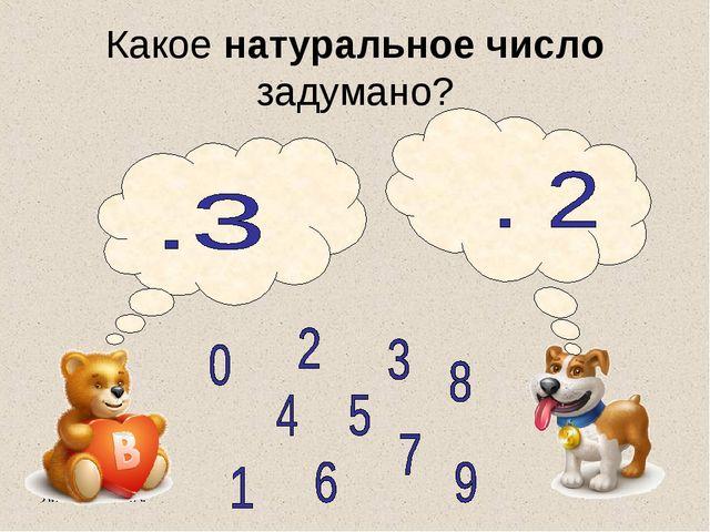 Литвиненко Т.А. Какое натуральное число задумано?