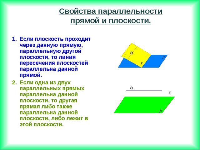 Если плоскость проходит через данную прямую, параллельную другой плоскости, т...