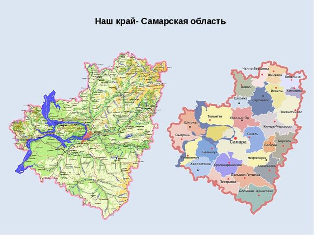 Наш край- Самарская область