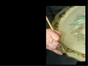 Уборка краёв подноса Украшение борта подноса, состоящее из геометрических и