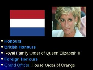 Honours British Honours Royal Family Order of Queen Elizabeth II Foreign Hono