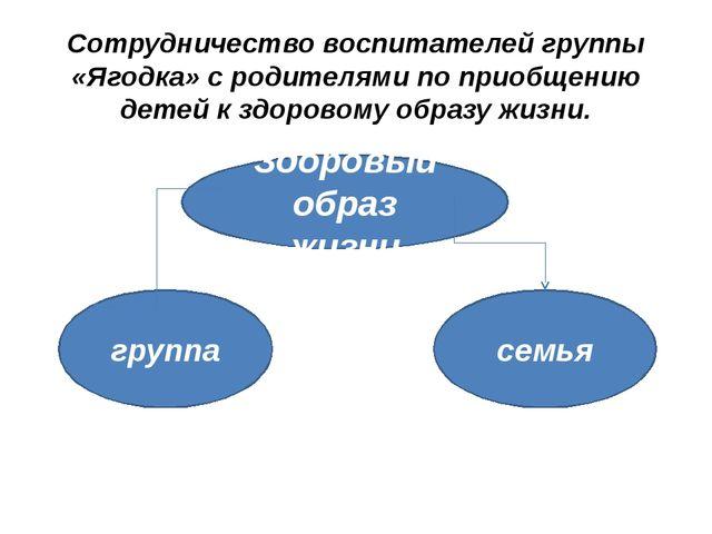 Сотрудничество воспитателей группы «Ягодка» с родителями по приобщению детей...